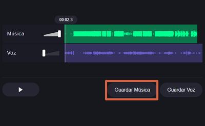 Cómo quitar la voz de una canción desde Vocal Remover org paso 3