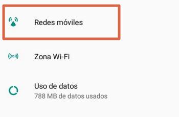 Activar los datos móviles en Android en diferentes dispositivos paso 1