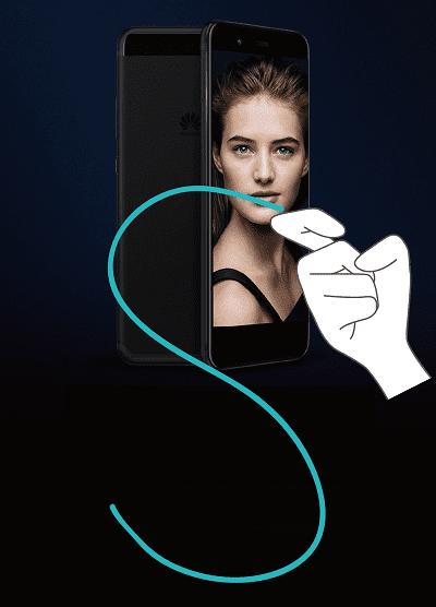 Cómo hacer una captura de pantalla en Huawei con los nudillos