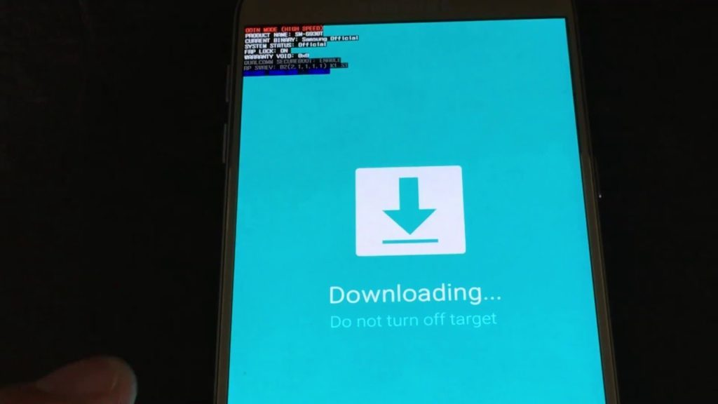 Downloading… do not turn off target