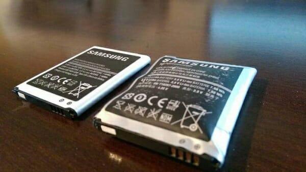 no carga el celular bateria dañada
