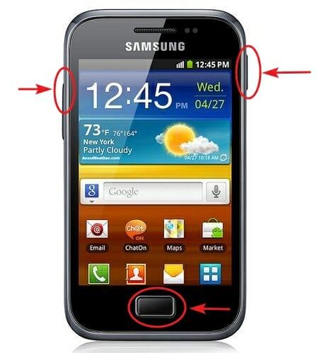 Formatear o recetear Samsung Galaxy Grand Ace