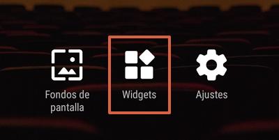 Cómo agregar la barra de Google en Android como un widget desde Nova Launcher paso 1