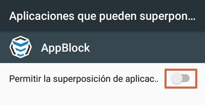 Cómo bloquear páginas web en Google Chrome para Android utilizando AppBlock paso 11
