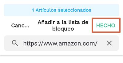 Cómo bloquear páginas web en Google Chrome para Android utilizando BlockSite paso 10