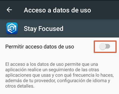 Cómo bloquear páginas web en Google Chrome para Android utilizando Stay Focused paso 3