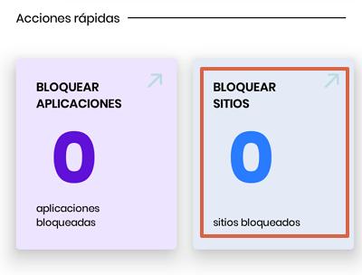 Cómo bloquear páginas web en Google Chrome para Android utilizando Stay Focused paso 4