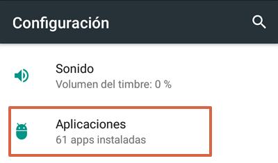 Cómo habilitar la barra de Google en Android paso 1
