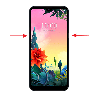 Cómo hacer una captura de pantalla en dispositivos LG utilizando botones
