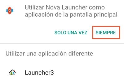 Cómo quitar la barra de Google en Android utilizando Nova Launcher paso 6