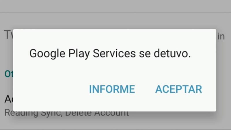 Google Play Store se ha detenido