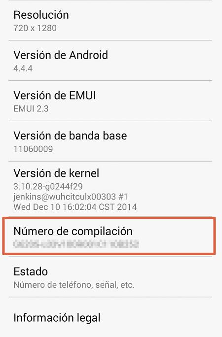 Activar depuración USB paso 3