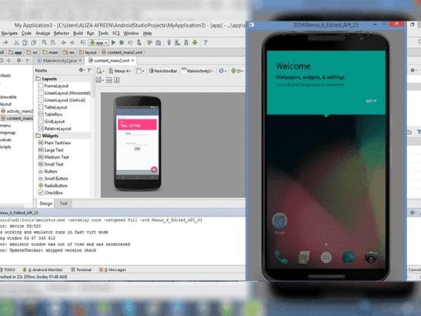 Android Studio.