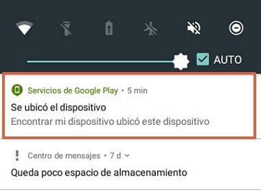 Bloquear celular robado Android paso 2.