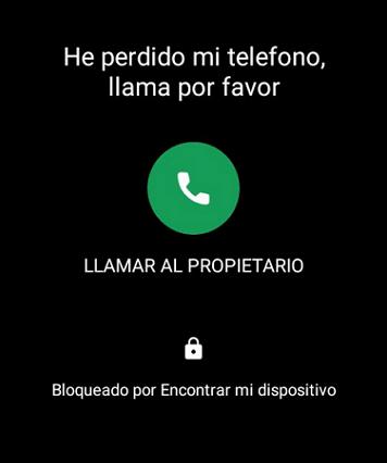 Bloquear celular robado Android paso 8