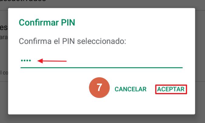 Cómo activar el control parental en Google Play paso 7