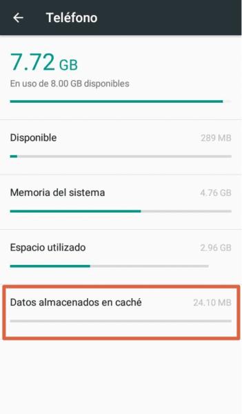 Cómo actualizar Wpp a su ultima versión almacenamiento insuficiente paso 4