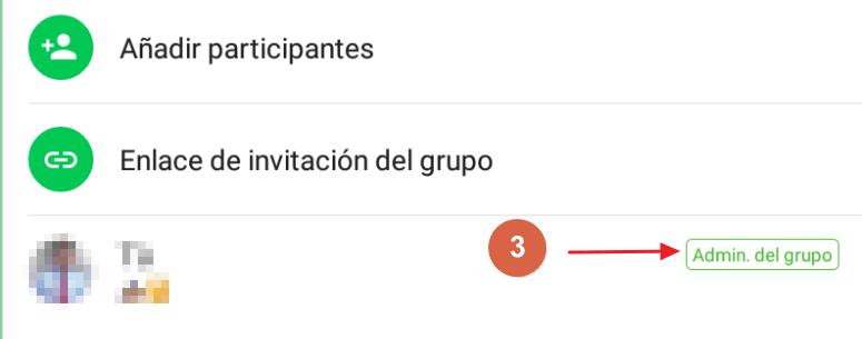 Cómo bloquear un grupo de WhatsApp paso 3