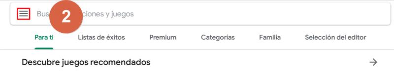 Cómo desactivar las compras de Google Play Paso 2