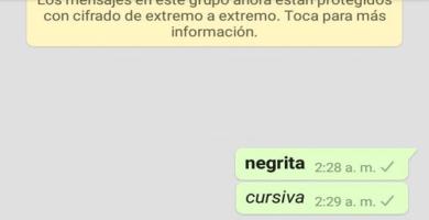 Cómo escribir con negrita, cursiva o subrayado en WhatsApp