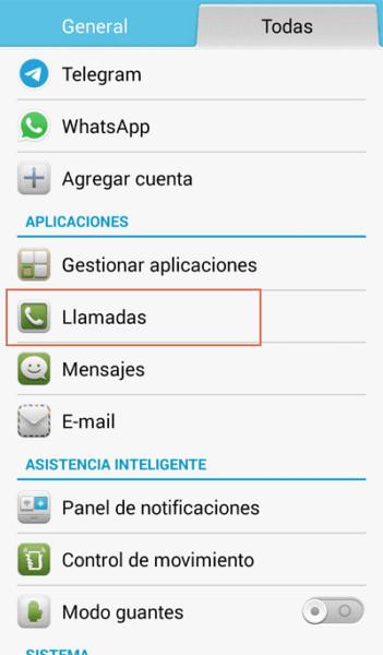 Cambiar configuracion para llamar con numero privado paso 2