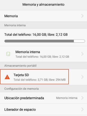 Como formatear la tarjeta de memoria desde el teléfono paso 4