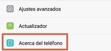 Cómo saber mi número de celular utilizando WhatsApp desde el menú de ajustes del dispositivo paso 2