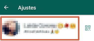 Cómo saber mi número de celular utilizando WhatsApp paso 4