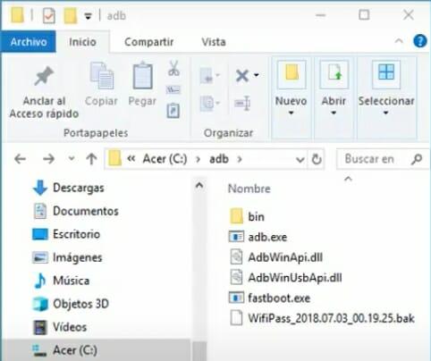 Como ver claves WiFi en Android con ADB paso 5