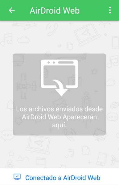 Compartir pantalla con AirDroid paso 6