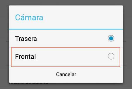 Configurar camara del telefono en DroidCam paso 3