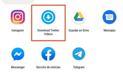 Descargar videos Twitter paso 8