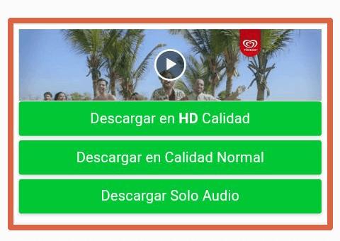 Descargar videos de facebook a través de sitio web paso 3