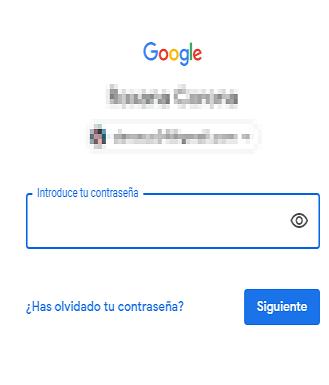 Eliminar cuenta de Google desde la web paso 1.
