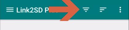 Mover aplicaciones a la SD con Link2SD paso 2