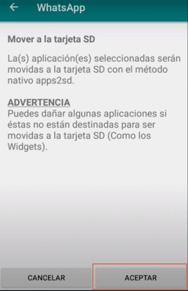 Mover aplicaciones a la SD con Link2SD paso 6