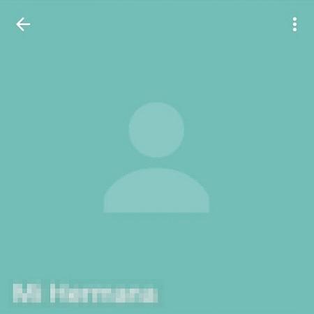 no hay imagen de perfil