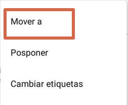Acceder a papelera de reciclaje de Gmail paso 5.