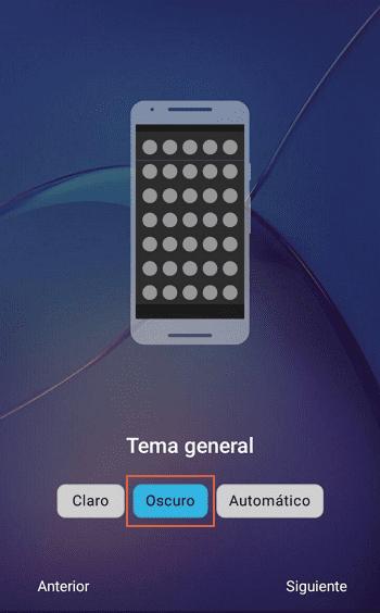 Activar modo oscuro en Android 8 o inferior con Nova Launcher paso 3