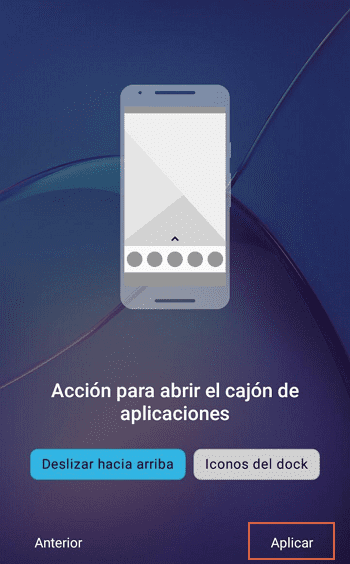 Activar modo oscuro en Android 8 o inferior con Nova Launcher paso 4