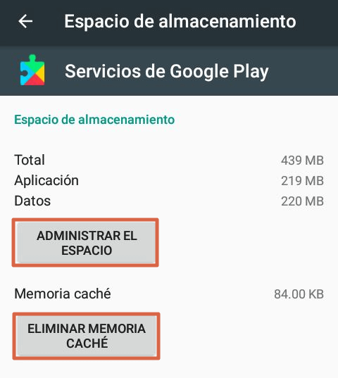 Actualizar Google Play Services paso 5
