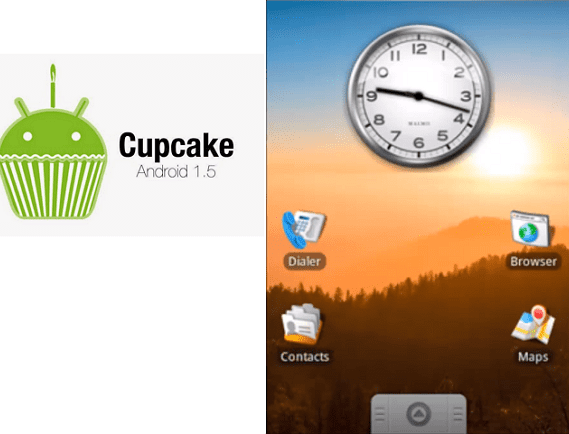 Android Cupcake 1.5.