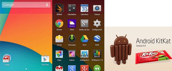 Android kit kat 4.4.