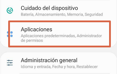 Cómo activar Android System Webview paso 1