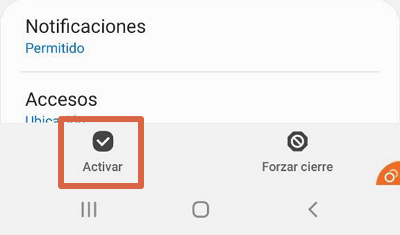Cómo activar Android System Webview paso 5