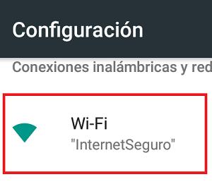 Cómo activar el Wifi Direct paso 2.