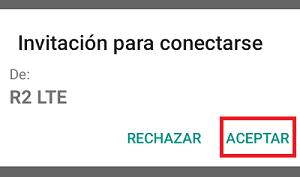 Cómo activar el Wifi Direct paso 7.