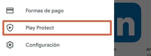 Cómo eliminar páginas que se abren solas en Google Chrome Android activando Play Protect paso 2