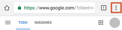 Cómo eliminar páginas que se abren solas en Google Chrome Android bloqueando anuncios paso 1