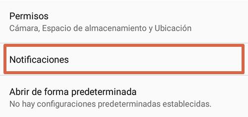 Cómo eliminar páginas que se abren solas en Google Chrome Android desactivando las notificaciones en Chrome paso 3